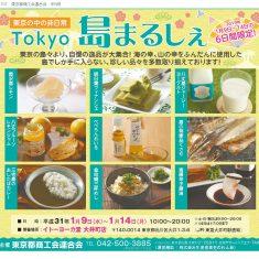 6日間限定!1/9(水)~14(月・祝)『TOKYO島まるしぇ』をイトーヨーカ堂大井町店にて開催します。